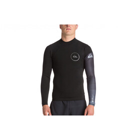 Quiksilver 1mm Syncro Series LS Neoprene Surf Top Men, black/jet black